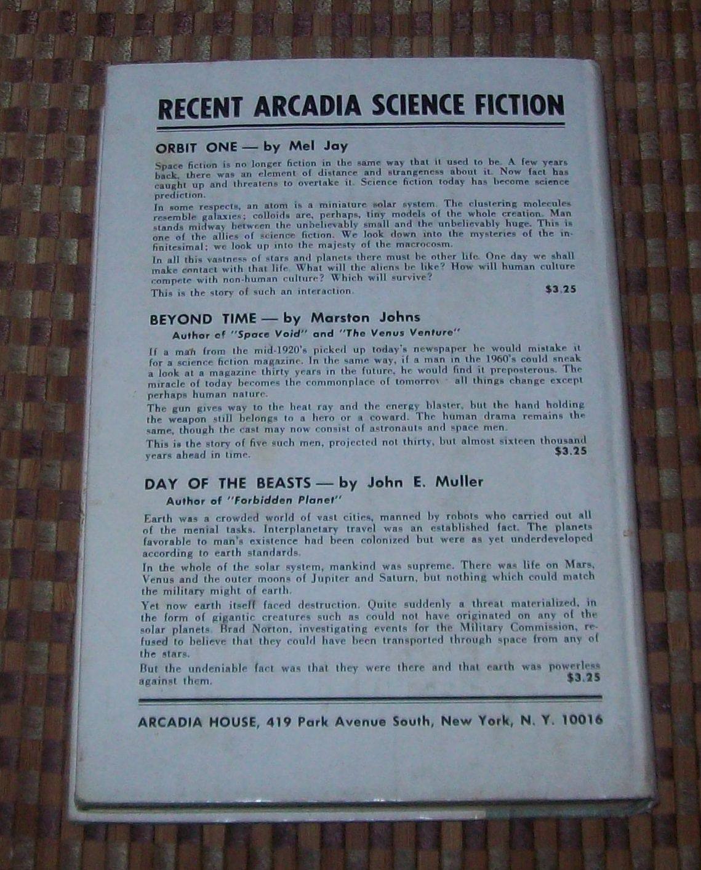 The Forgotten Race by Julius P. Newton 1967 HBDJ Alien Skies