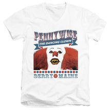 It movie pennywise t shirt horror movie distressed graphic cotton white tee thumb200