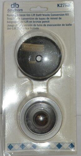 Dearborn Brass K27RB Brushed Bronze Uni Lift Bath Waste Conversion Kit