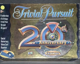 Parker Brothers Trivial Pursuit 20th Anniversary Edition Family Game - C... - $12.38