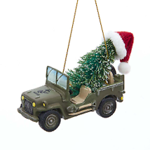 U.S. Marine Corps® Vehicle With Christmas Tree Ornament w - $16.99