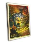 Jungle Book 1942 Vintage Movie FRAMED CANVAS Print  - $19.95