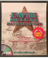 Empire Deluxe Masters Edition (PC, 1994) Rare Windows Video Game New Sealed - $135.00