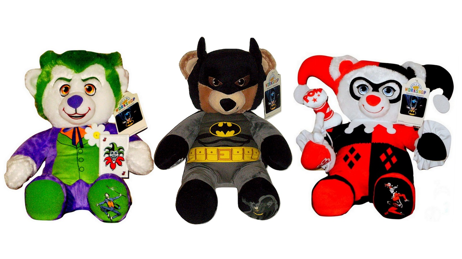 cb8b6ccc8bf Build a Bear Batman Harley Quinn The Joker and 19 similar items