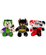 Build a Bear Batman Harley Quinn The Joker DC Comics 16in. Exclusive Ted... - $899.00
