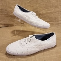 Keds Champion Eyelet Lace Low Top Lace Up Sneaker Womens Size 10 White W... - $17.75