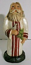 Santa Claus / St Nick, 12 Days of Christmas Turtle Doves Statue Resin  - $34.60
