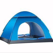 Outdoor 3-4 Persons Camping Tent Automatic Quick Open Waterproof UV Sunshade Can - $51.98