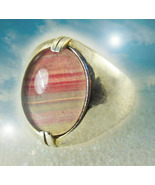 HAUNTED WITCH'S HOLLOW ANTIQUE RING ALEXANDRIAS TREASURES COLLECTION MAGICK - $434.77