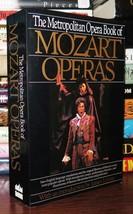 Wolfgang Amadeus Mozart & James Levine THE METROPOLITAN OPERA BOOK OF MO... - $29.95
