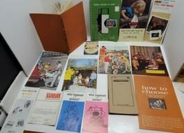 Vtg Photography Camera Book Catalog Estate Lot Home Portraiture Kodak Vi... - $33.85