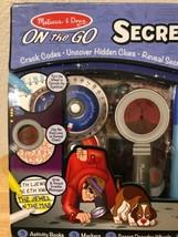 Melissa & Doug On The GO Secret Decoder Deluxe Activity Set Toy - $43.65