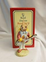 Royal Doulton Bunnykins Figurine - Mr. Bunnybeat Strumming - DB16 w original Box - $41.53