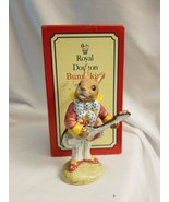 Royal Doulton Bunnykins Figurine - Mr. Bunnybeat Strumming - DB16 w orig... - $41.53