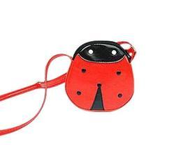 PANDA SUPERSTORE Lovely Cartoon Red Beetle Child Messenger Bag/Purse