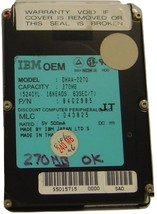 270MB 2.5IN SLP LAPTOP DRIVE IBM DHAA-2270_270MB Free USA Ship Our Drives Work