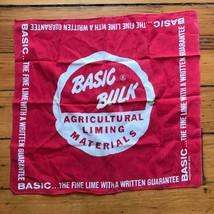 Vintage Basic Massengut Landwirtschaftliches Kalkung Taschentuch 45.7cmx... - $41.85