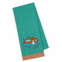 "This Is How We Roll Embellished Kitchen Dish Towel New 18"" x 28"" Camper ... - $14.84"