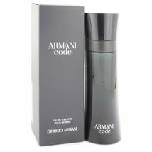 Armani Code Cologne By Giorgio Armani Eau De Toilette Spray 4.2 Oz Eau De Toile - $123.95