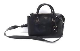 GUESS Liya Satchel Carryall Convertible Tote Handbag Bag, Black, NEW $115 - $80.00