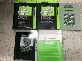 2002 toyota camry shop manual repair service game with ewd collision - $286.67