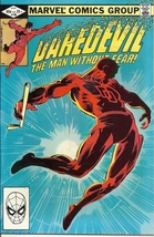 (CB-11) 1982 Marvel Comic Book: Daredevil #185 - $10.00