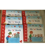 Lot of 6 My First Steps to Reading book kindergarten sight words can rea... - $19.79