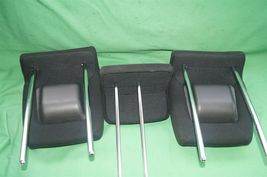 10-14 Honda Insight Rear Seat Cloth Headrests Head Rests Set image 6