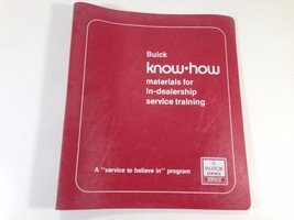 1978 1980 Buick Opel Know How In Dealership Training Packet - $19.99
