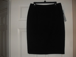 Le Suit New Womens Black Straight Skirt   8 - $8.90