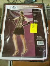 HGM Costume Women's Classic Flapper Black/Silver - $68.00