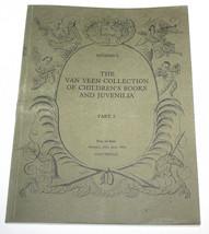 Sotheby's Catalogue Van Veen Collection Children's Books Juvenilia Part ... - $9.89
