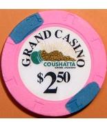 $2.50 Casino Chip. Grand, Kinder, LA. V25. - $4.99