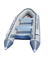BRIS 12.5ft Inflatable Boat Inflatable Dinghy Rescue & Dive Raft Fishing... - $1,149.00