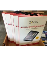NEW Case of 5  ZAGG Smudge Proof Screen Protector for iPad Mini/2/3 - $28.40