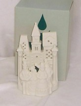 PartyLite Village Carolers Tea Light Holder White Bisque Porcelain P0204 - $7.87