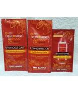 3 Pc Creme of Nature LEAVE IN HAIR MILK Curl Buttercreme Enhancing Sampl... - $9.89