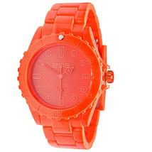 EOS New York Unisex Marksmen Plastic Orange Quartz Analog Watch #359SORG NIB