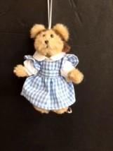 "Boyds Bears ""Dorothy"" - #567985-1 -4.5"" Plush Bear Ornament - Wizard of ... - $19.99"