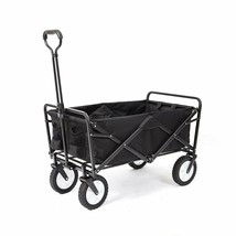 Mac Sports Collapsible Folding Outdoor Utility Wagon, Black - $85.64