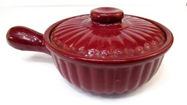 Vintage Shawnee Pottery COVERED CASSEROLE DISH Skillet 1950's - $17.82