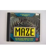 MAZE CD PC Game - The World Maze Guide by Dragonfire Research/MECA Software - $19.79