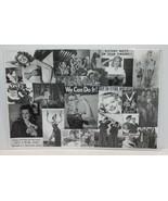 WW2 War Women Advertising Poster Laminated - $17.99