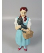 Wizard of oz Dorothy and toto doll plastic figure 1995 movie collectible... - $23.60