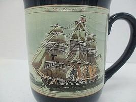 Otagiri Nautical Coffee Mug Tea Cup  The White Diamond Line  Clipper Shi... - $14.95
