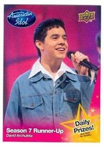 David Archuleta trading card (Singer) 2009 Upper Deck American Idol #049 - $4.00