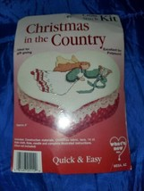 "Christmas In The Country Cross Stitch Kit [approximately 6""] New - $17.77"