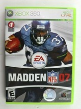 Madden NFL 07 (Microsoft Xbox 360, 2006) Complete Tested - $4.95