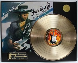 Stevie Ray Vaughn LP Record Reproduction Signature Series  Display - $145.95