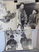 3 LARGE 16x20 WW2 Photos w/Soldier ID's & Locations 1945 Army 90th Infantry Div - $29.97